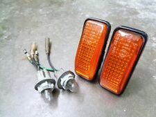 JDM 88-91 Honda Civic EF2-EF9 Stanley Amber Side Marker