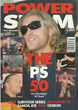 Power Slam, The Wrestling Magazine, Survivor Series & PS top 50, issue No 150