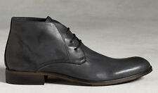 john varvatos HANDMADE IN ITALY Calf Leather Thompson Chukka Boot (Size 8.5 US)