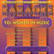 FREE US SH (int'l sh=$0-$3) NEW CD Various Artists: Karaoke: 90's Women in Music