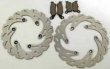 YAMAHA 03-07 YZ125 / YZ250 / YZ450F FRONT & REAR BRAKE PADS & SPORT BRAKE ROTORS