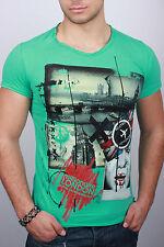 New Green T-shirt Short Sleeve d.g:Men'S Size L
