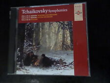 CD DOUBLE ALBUM - TCHAIKOVSKY SYMPHONIES - NO 1G MINOR / 2 C MINOR / D POLISH