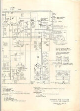 Tandberg Reel To Reel Tape Recorder Models 821,822,823,824 drawing/schematic1965