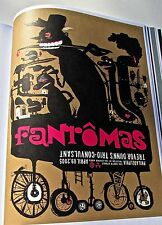 Fantomas Concert Poster for 2005 Philadelphia PA14x10 Offset Lithograph Unsigned