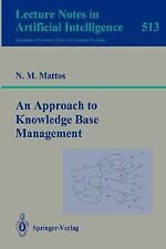 An Approach to Knowledge Base Management (Lecture Notes in Computer Science  Lec