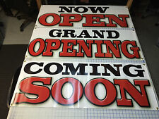 Lot 3 Business Blastoff Package NOW OPEN COMING SOON GRAND OPENING BANNER SIGN