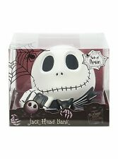 Disney The Nightmare Before Christmas Jack Skellington Head Bank Coin - NIB
