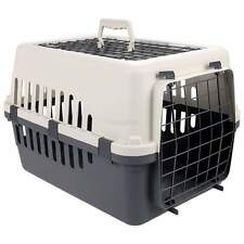 Pet Porter 2 Door Kennel for Small /Medium Dog Travel Crate Carrier Hard Plastic