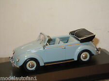 VW Volkswagen Beetle Kafer Kever Cabriolet van Minichamps 1:43 in Box *16146