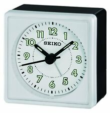 Seiko Quiet Sweep Bedside Alarm Clock QHE083WLH