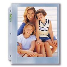 (10) Ultra Pro 8x10 Photo Pages Album / Binder Sheets 1-Pocket Prints Full Page