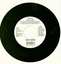 """BEE GEES - Alone/How Deep  If Your Love NEW 7"""" POP VINYL POLYDOR RECORDS"""