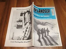 LANDSER   GROSSBAND 1103 -- STURM ÜBER DER TUNDRA / Gebirgsjäger an Eismeerfront