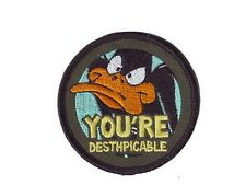 Daffy Duck ecusson brodé Officiel sous blister Looney tunes Daffy Duck patch