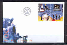 Aland Isl 284 FDC 1998 Bkl pane of 4v YOUTH Actions Scooter Computer CV 4,50 eur