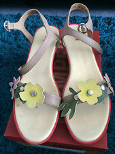 CAMPER havana mix twins sandals Size 38 EU 5 UK come in box