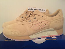 ASICS Tiger Gel Lyte III 3 US 10.5 Juice Clot UK 9.5 43.5 SABBIA CLAY beige scamosciati
