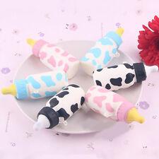 Cute Soft Squishy Feeding Bottle Toy Slow Rising Bread Fun Cellphone Straps