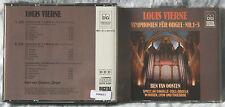 LOUIS VIERNE - sinfonie per organo n.1/2/3 - Ben Van Ooste BOX 2 CD n.0037