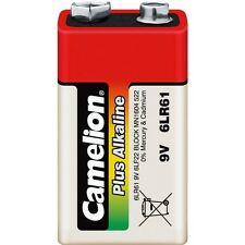 Lot 1 piles/battery  Camélion  Alcaline Plus 9V 6LF22 sous cello