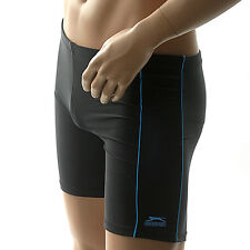 Nouveau barre/s homme slazenger lycra natation trunks jammer short run cycle Gym.1