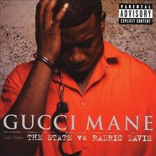 The State vs. Radric Davis [PA] * by Gucci Mane (CD, Dec-2009, Warner Bros....