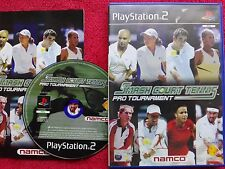 Smash TRIBUNAL Tenis PRO TORNEO Original Black Label PLAYSTATION 2 PS2 PAL