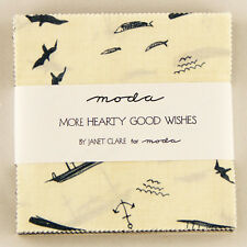 Moda Charm Pack More Hearty Good Wishes - pre cut 5 inch squares 100% cotton