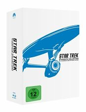STAR TREK  Raumschiff Enterprise TEIL 1- 10 Captain Kirk 12 Blu-Ray Stardate BOX
