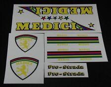 1979 MEDICI Pro Strada decal set of 8 (sku 188)