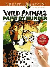 Adult Coloring: Creative Haven Wild Animals Paint by Number by Diego Jourdan...