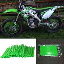 72pcs Dirt bike Wheel Spoke Wraps Skins For Kawasaki KLX400R/SR 450R KX100 KX125