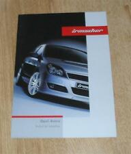 Vauxhall Astra H Irmsher Accessory Brochure 2004