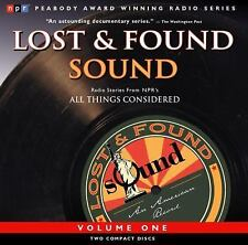 Best of NPR's Lost and Found Sound Vol. 1 Adams, Noah Audio CD