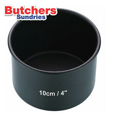 10cm / 4'' Non Stick Pork Pie Tin - Deep Cake Baking / Mould Pan