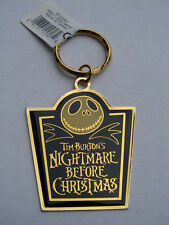 TIM BURTON DISNEY NIGHTMARE BEFORE CHRISTMAS JACK KEYCHAIN MINT UNUSED WITH TAGS
