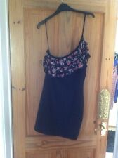New Look One Shoulder Dress With Ruffle Size 12 Really Gorgeous On