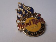 broche Hard Rock Cafe Chicago 2000 - flammes flames