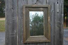 Handmade Reclaimed Wood Wall Mirror Rustic Natural Cedar Distressed Vanity Style