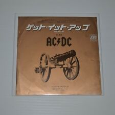 "AC/DC - LET'S GET IT UP - 1982 JAPAN 7"" SINGLE PROMO SAMPLE"