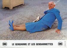 LOUIS DE FUNES LE GENDARME ET LES GENDARMETTES 1982 VINTAGE LOBBY CARD #3