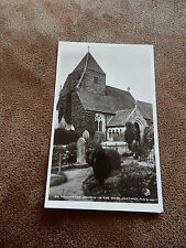 1907 Judges Real Photo Postcard-Hollington Church-in-the-wood Hastings Sussex