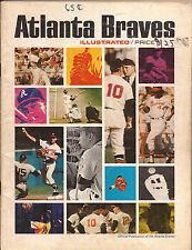 ATLANTA BRAVES 1966 OFFICIAL YEARBOOK RARE