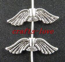 20pcs Tibet Silver Angell's Wings Spacers 21x7x2.5mm 10821