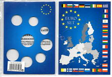 5 Lighthouse Euro Coin Display Cards For Euro 8 Coin Set 1 Cent To 2 Euro