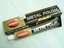 Autosol Chrome Polish/Cleaner Aluminium & Metal Paste Tube Car/bike/truck/boat