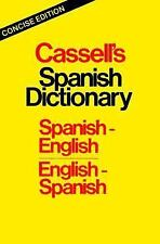 Cassell's Concise Spanish-English English-Spanish Dictionary-ExLibrary