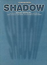 SHADOW-Ashlee SIMPSON - 2004 SPARTITI MUSICALI