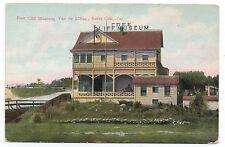 1910 Postcard Free Cliff Museum at Santa Cruz CA